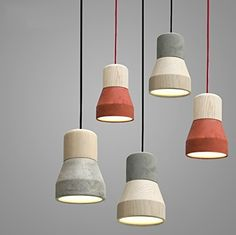 Details about Modern Wooden Pendant Ceiling Hanging Lamp Chandelier Kitchen Light Fixture Wood Pendant Light, Cheap Pendant Lights, Modern Pendant Light, Pendant Light Fixtures, Pendant Lighting, Wire Pendant, Industrial Lighting, Modern Industrial, Modern Rustic