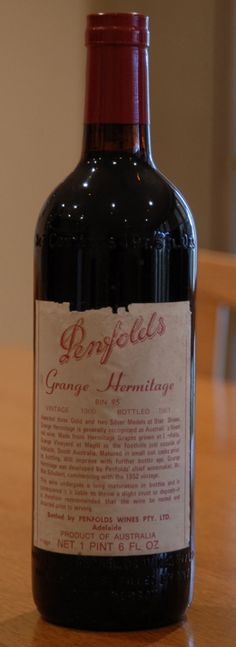 1960 PENFOLDS Bin 95 Grange Hermitage