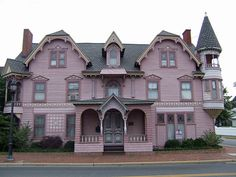 Beautiful house, now a bed and breakfast. Located in Milford.