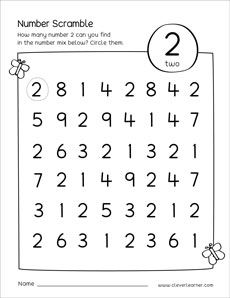 Number scramble activity worksheet for number 3 for preschool children Creative Curriculum Preschool, Preschool Number Worksheets, Numbers Preschool, Preschool Learning Activities, Preschool Lessons, Preschool Activities, Math For Kids, Number 3, Free Printable