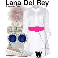 """""""Lana Del Rey"""" by wearwhatyouwatch on Polyvore"""