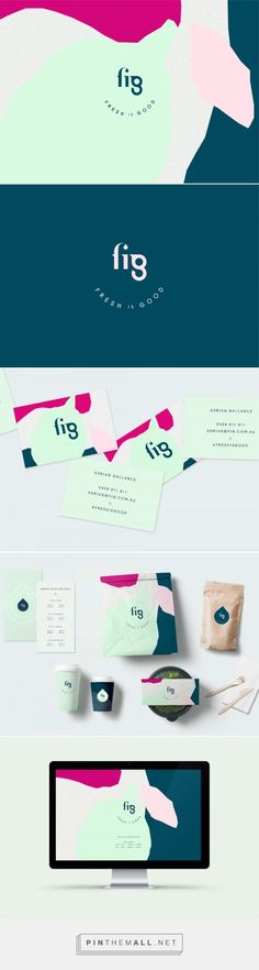 FIG Nutritional Food Company Branding by Brandworks Studio | Fivestar Branding Agency – Design and Branding Agency & Curated Inspiration Gallery