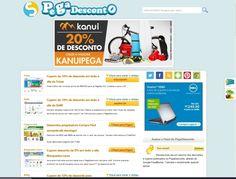 Conheça o Pega Desconto, um site para você economizar com suas compras na Internet