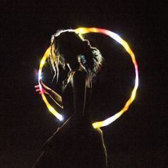 led silhouette, want a shot like this with my hoop!