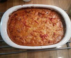 Rezept Gyros überbacken von Sabine15515 - Rezept der Kategorie Hauptgerichte mit Fleisch