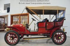 1906 Autocar Type Vll Touring - The Autocar Company produced cars from 1897-1912 in Hagerstown, Indiana. After 1912 they only produced trucks and after several mergers are still in business under Grand Vehicle Works Holdings