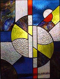 Art Deco - stained glass window