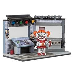 Five Nights at Freddy's Circus Control Medium Construction Set McFarlane Toys Five Nights at Freddys Construction Toys Five Nights At Freddy's, Fnaf Lego Sets, Legos, Freddy Plush, Best Christmas Toys, Entertainment Center Furniture, Ceiling Texture, Fnaf Sister Location, Cool Lego Creations