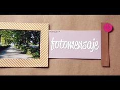 Foto + Mensaje - sencilla manualidad para regalar