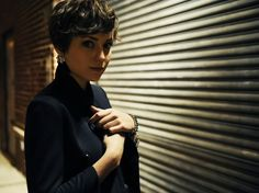 Pixie Cut Naturally Curly Hair | Punk| Punk is a unique style for short curly haircut. Description from pinterest.com. I searched for this on bing.com/images