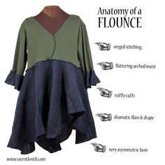 secret lentil clothing Anatomy of a Flounce