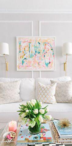 Pretty Pastels ● Living room