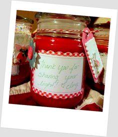 """Sharing Your Light"" Teacher Appreciation Gift"