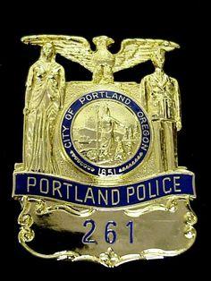City of Portland, OR Police Badge www.tweepyshop.com