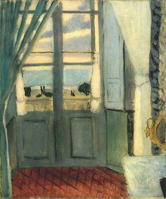 Interior with a window, 1919  Henri Matisse