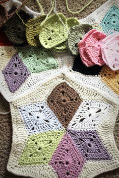 crochet and company: Crocheting.......