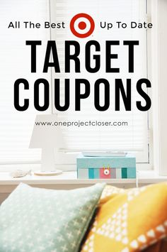 Saving for later! Love these up to date Target coupons from One Project Closer! via @JocieOPC