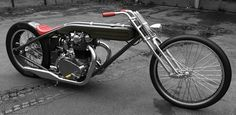 Sweet and simple XS 650 Digger