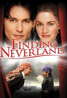Finding Neverland Johnny Depp, Kate Winslet, Julie Christie, Dustin Hoffman