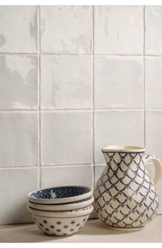From the Cosmopolitan range at The Winchester Tile Company. Handmade ceramic tiles, made in the UK. From the Cosmopolitan range at The Winchester Tile Company. Handmade ceramic tiles, made in the UK. Contemporary Kitchen Tiles, White Square Tiles, Handmade Tiles, Handmade Ceramic, Kitchen Splashback Tiles, Backsplash Tile, Appartement Design, Country Kitchen Designs, Tile Countertops