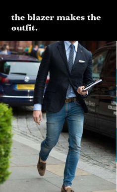 The blazer makes the outfit. #blazers #margoniperot #mensfashion #suits #style #mens