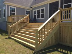 Curved black balusters and a varied width deck skirt smarten up this design and help keep animals from crawling under your deck. Description from pinterest.com. I searched for this on bing.com/images