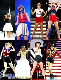 Red Tour Outfits