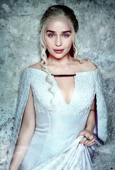 Khaleesi, Mother of Dragons, The Unburnt, Breaker of Chains, just plain Bad Ass.