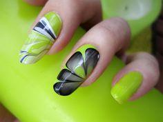Water Marble Nails   Zigi Ztyle