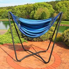 Hammock Chair Stand Calgary Office Chairs You Kneel On 199 Best Tsp Ideas Images Backyard Krystal 2 Point Swing And Space Saving Hanging Cotton In Color Beach Oasis By Freeport Park Brand