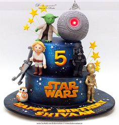 Starwars Theme Cake by D Cake Creations