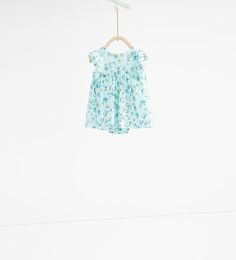Printed dress-TOPS-MINI | 0-12 months-KIDS | ZARA United States