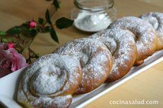 ensaimadas-hechas-en-casa3 Biscuits, Bread, Cookies, Breakfast, Sweet, Holiday, Easy, Desserts, Food