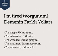 English Vocabulary Words, English Phrases, Learn English Words, English Study, English Lessons, English Language, Learn Turkish Language, Learn A New Language, Beautiful Mind Quotes