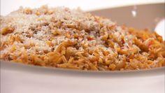Giada De Laurentiis - Orzo with Smokey Tomato Vinaigrette