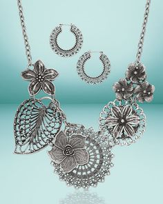 The Botanical Necklace, only $27 from Premier Designs!