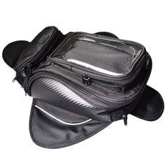 Motorcycle tank bag  motorbike oil fuel tank bag Magnetic Motorcycle  Oil Fuel Tank Bike  saddle bag motorcycle bag big screen