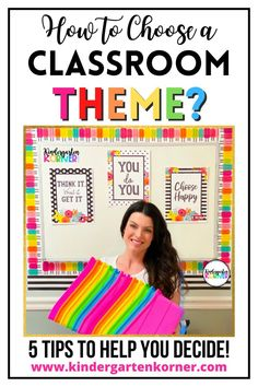 Choosing a classroom theme can be a tough decision. I will share my top 5 tips that will help teachers choosing a theme to fit their style!