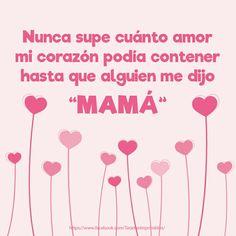 Frases de amor, frasesde madres e hijos. #frases #frasedeamor #cartelitos…