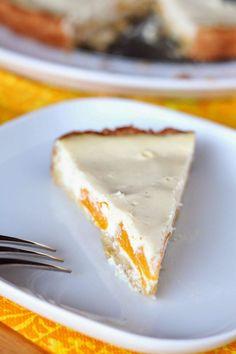 Persikka-rahkapiirakka - Suklaapossu Cheesecake, Desserts, Food, Tailgate Desserts, Deserts, Cheesecakes, Essen, Postres, Meals