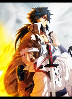 Ashura and Indra: The Battle Beyond! by NuclearAgent.deviantart.com on @DeviantArt