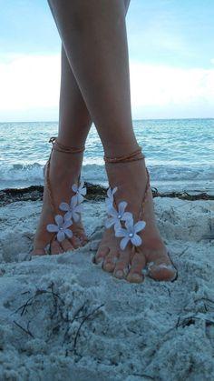 Barefoot sandals. wedding boho sandals barefoot by dieselboutique