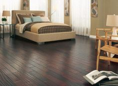 Get the natural worn look with Oxford Mahogany Handscraped!