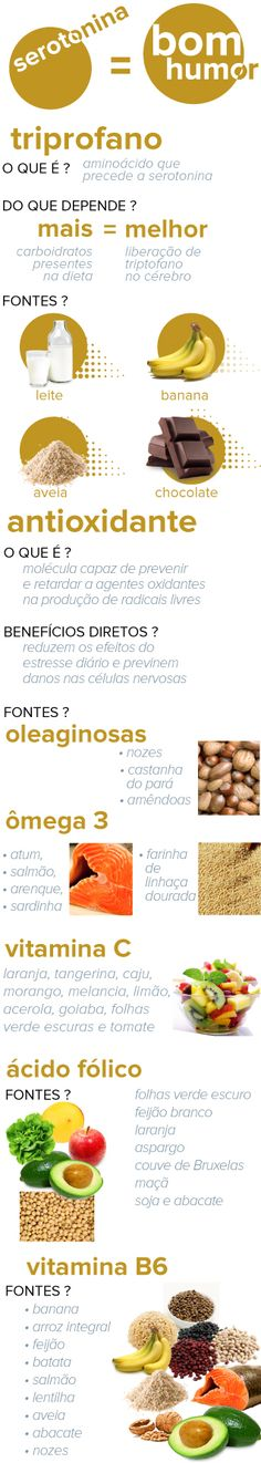 Alimentos que melhoram o humor, a memória e reduzem o estresse Health And Nutrition, Health And Wellness, Health Fitness, Healthy Tips, Healthy Eating, Healthy Recipes, Good Food, Yummy Food, Food Hacks