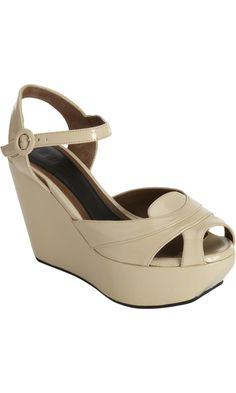 Marni Two-Piece Wedge Sandal