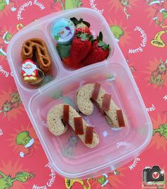 Christmas lunches in @Kelly Lester / EasyLunchboxes from mamabelly.com