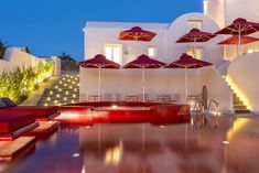 The Art Hotel on the Greek island of Santorini