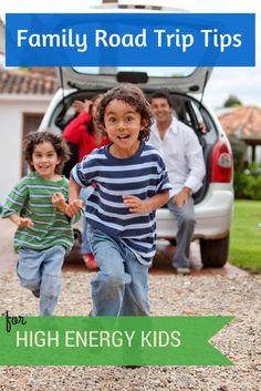 Holiday travel tips for high energy kids. #roadtrip #familytravel #kbnmoms