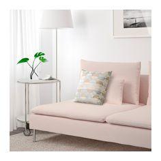 SÖDERHAMN Three-seat section - Samsta light pink - IKEA