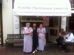 Klederdracht  @ Loket 13 meedoen voor het beste frietje van Nederland